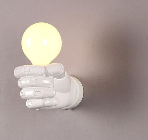 Mão branca direita