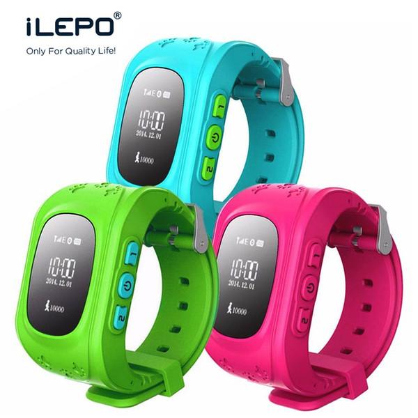 2017 Q50 дети Smart Watch GPS LBS Double Location Safe дети часы активность трекер SOS карты для Android IOS от kindboy для телефона