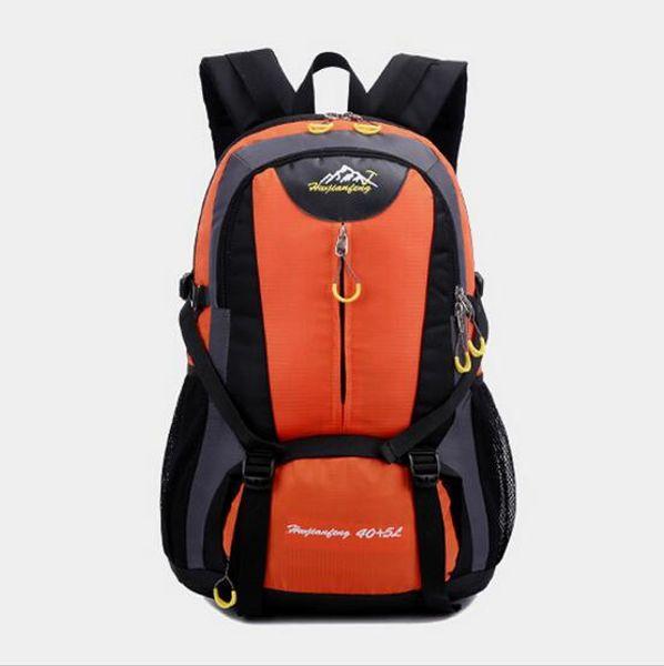 2016 new shoulder waterproof outdoor sports mountaineering backpack multi-functional wear-resistant breathable shoulder bag