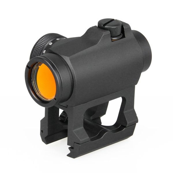 PPT Tactical 1x Red Dot Scope with Riser Mount Black Color for Outdoor Hunting Free Shipping CL2-0106B