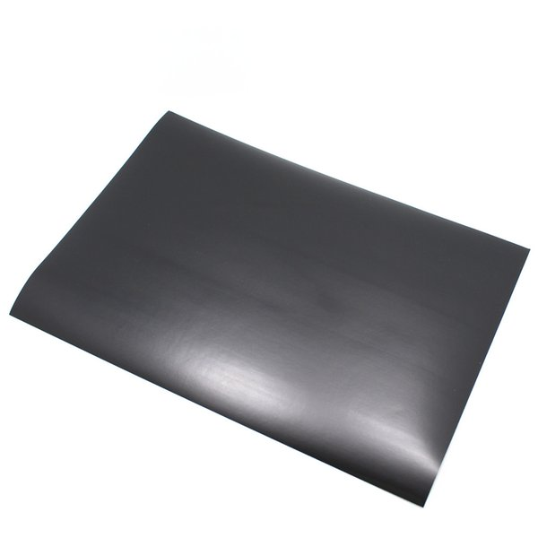 Wholesale-20Pcs/ Lot 21*29.7cm Event A4 Size Matte Black Colour PVC Self Adhesive Blank Sticker Label Printing Paper For Laser Printer