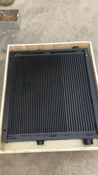 Waner sales aluminum plate fin type air cooler oil cooler heat exchanger 88290005-172 for Sullair LS12-20 screw oil injected air compressor