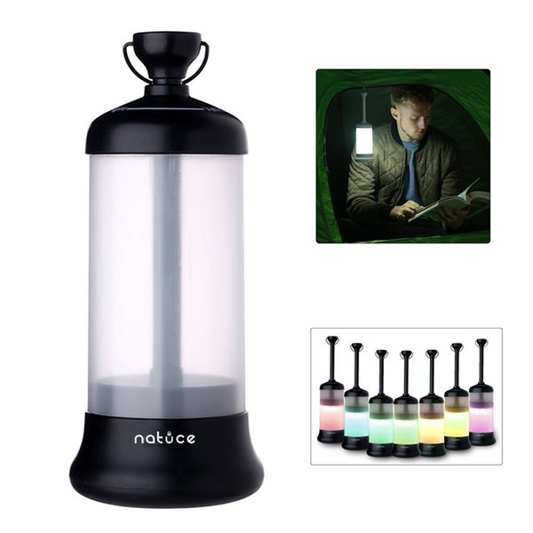 Outdoor Multi Function LED Camping Lantern Light Rechargeable Portable Vehicle-Mounted Travel Lights Strong Magnet Design for Fishing Hiking