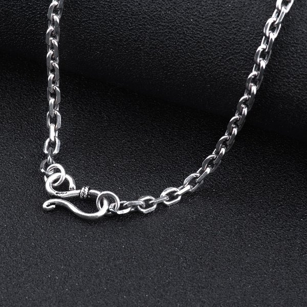 925 sterling silver chain men necklace men jewelry 100 pure silver 925 sterling silver chain men necklace men jewelry 100 pure silver necklace for women thai mozeypictures Images