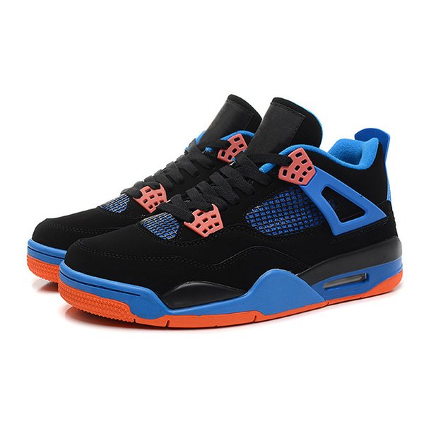 Wholesale 4 basketball shoes low Barons Run Running Shoes mens black Runings Shoe Athletic Outdoor Sneakers Size40-46