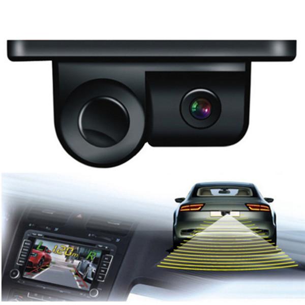 Ángulo de visión Esky de 170 grados Cámara impermeable con cámara de visión trasera HD con sensor de estacionamiento de radar caliente