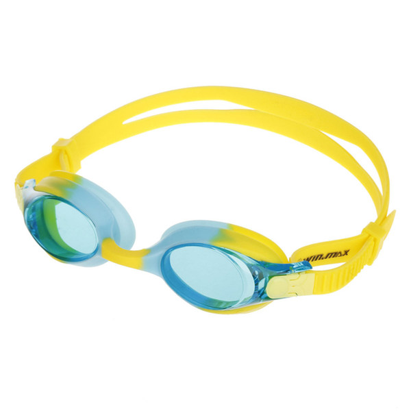 best selling Winmax Colorful 100% U.V. and Anti-fog Beach and Pool Swimming Sunglesses Swimming Goggles for kids