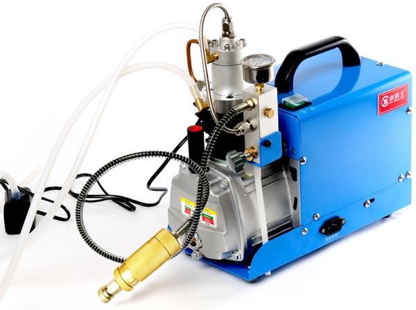 4500 PSI 300Bar 30MPA Hochdruckluftpumpe Wasserkühlung Scuba AirGun PCP Gewehr Nachfüllen Micro Portable Elektrische Kompressor