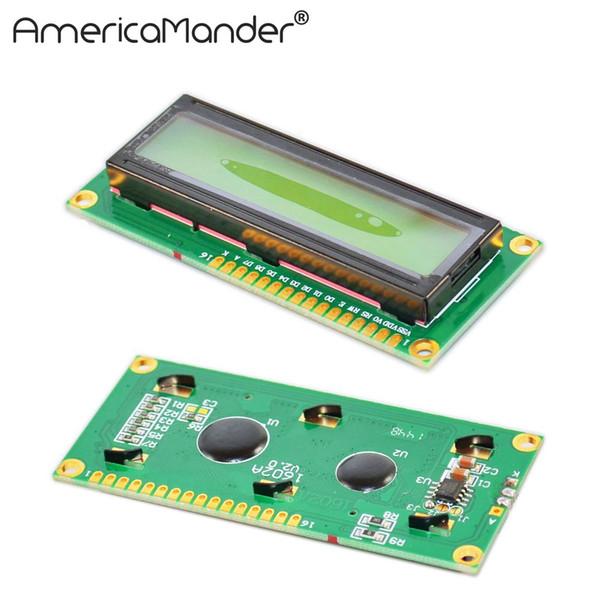 LCD 1602 modülü sarı yeşil ekran IIC / I2C arduino için LCD1602 Adaptör plakası