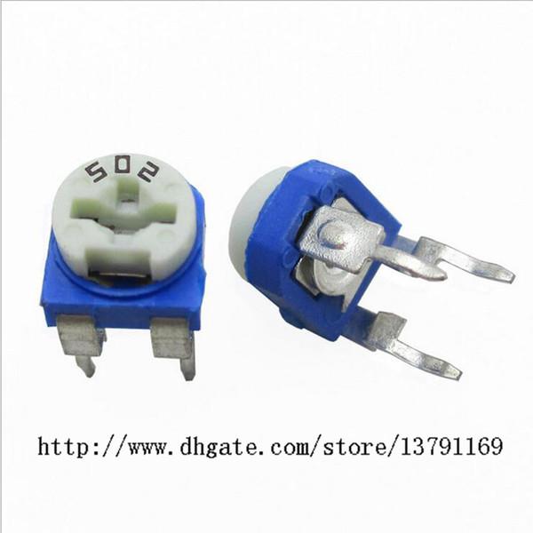 Variable Resistor Assorted Kit 13 Value 130pcs Trim Pot Potentiometer RoHS Compliant Top Adjustable Resistor Electronic Components