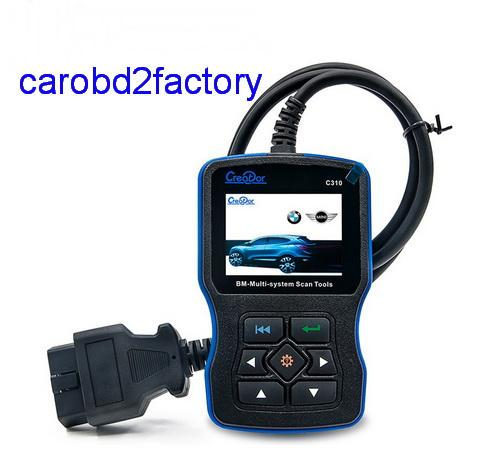 Hot sales------C310 for BMW Multi System Scan Tool Creator C310 scanner OBDII/EOBD Code Reader C310 System Scanner with DHL Free Shiipping