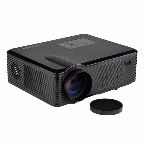 Wholesale-Hot sale! Excelvan Cl740D LED/LCD Projector 2400 Lumens HD Proyector Home Theater Laptop AV/VGA/HDMI/USB/DTV Input Support 1080P
