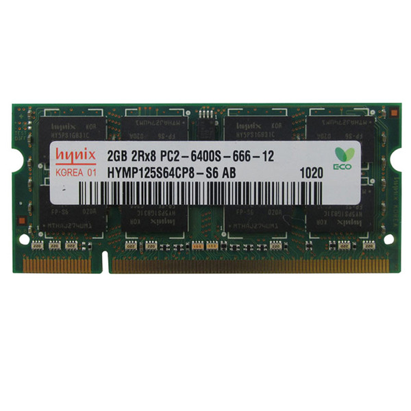 Notebook Memory 1GB 2GB DDR2 800 MHz 4GB 2Rx8 PC2-6400S lapto ram for HP 6530s 6531s 6710b 6530b 6535b 4416s 511 CQ40 CQ36 CQ45 8530p 8530w