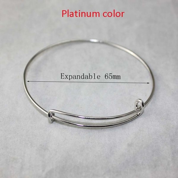 65mm platinum color