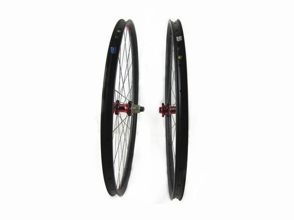 carbon MTB wheels 27.5er Mountain bike wheels MTB bike wheel UD/3K 650B 27/30/35width bicycle Mountain bike wheels