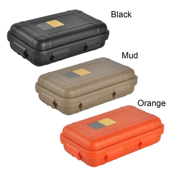 top popular Outdoor Sport Gear Shockproof Waterproof Box Sealed Box EDC Tools Wild Survival Storage Box Hot Sale 2504046 2019