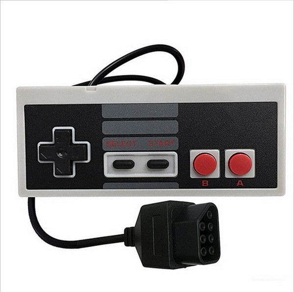 top popular Retro New Replacement Game Controller Pad Joypad Gamepad for Nintendo NES 8 Bit System Console Control Pad High Quality FAST SHIPPING 2020