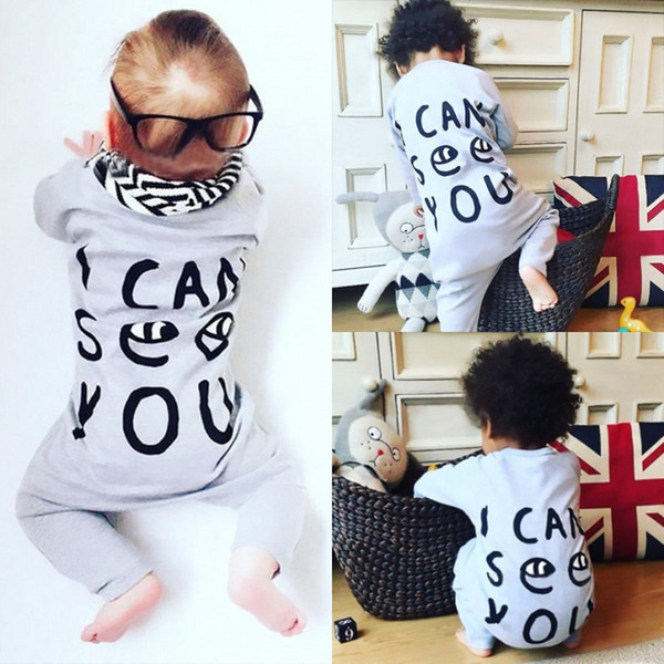 New Toddler Boys Girls Clothing Baby Romper Suit Boutique Kids Clothe Infant Onesies Long Pant Jumpsuit Christmas Pajamas Infantial Leotards