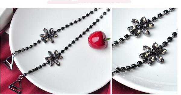 Girasole nero con diamante nero