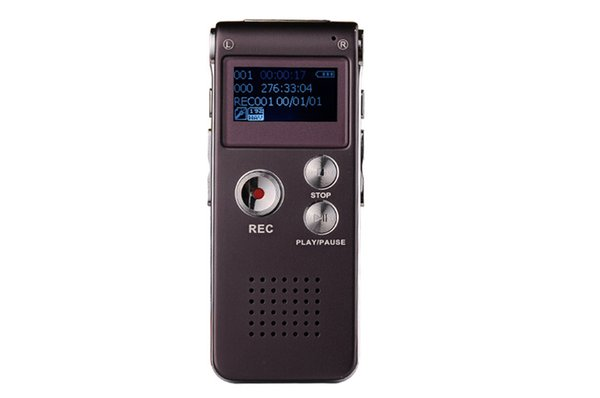 Wholesale-8GB Mini USB Flash Digital Audio Voice Recorder 3D Stereo MP3 Player Pen Drive Grabadora Gravador de voz