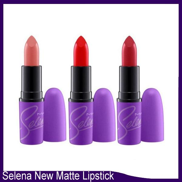 HOT NEW Selena Matte lipstick Collection LIQUID LIPSTICK MATTE 12 color DHL Free shipping+GIFT 660061
