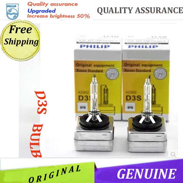 best selling 2PCS New Auto Parts Original Xenon D3S Bulbs 12V 35W D3S 4300K C1 6000K WX D3S Hid Xenon Bulbs Car Models Factory Promotion Free Shipping