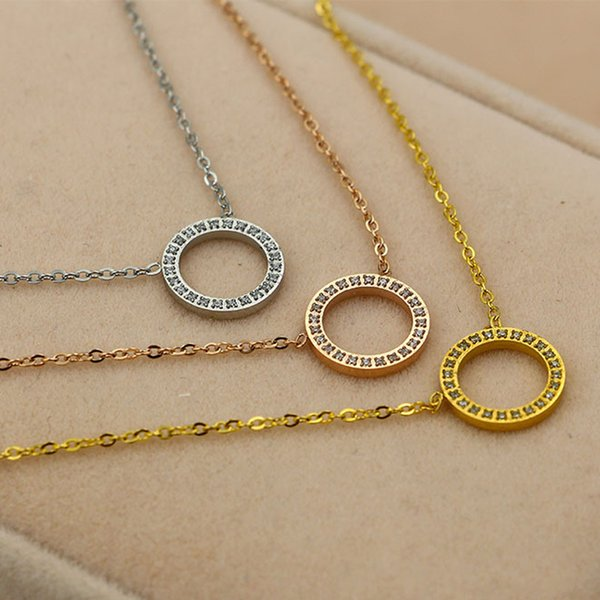 2017 charm stainless steel necklace Pendent Necklace High Quality Fashion Jewelry For Women And Men