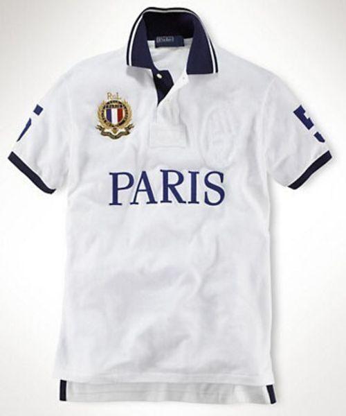 Marke Design Big Horse Polo T-shirt Männer Baumwolle Berlin Mailand New York Tokio Paris T Shirt Mens City Shirts Freizeit Tees
