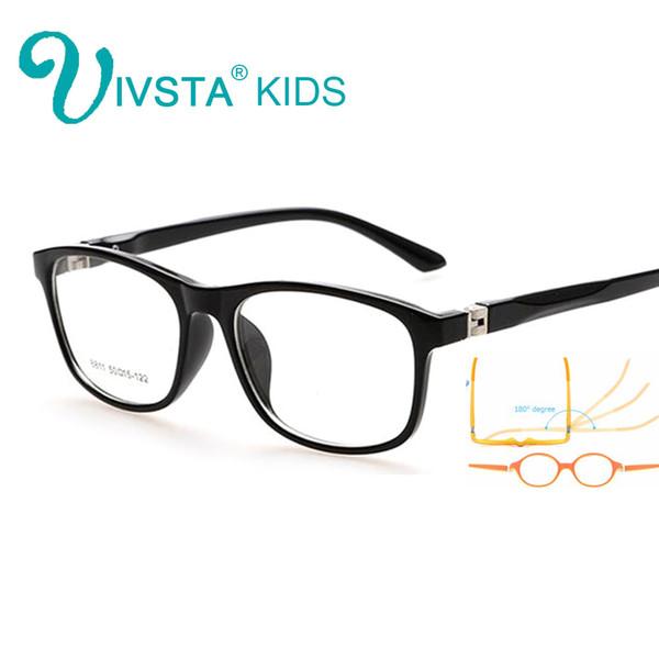 Toptan Satış - IVSTA 5-12 Çocuk çerçeve marka öğrenci gözlükleri çocuklar çerçeve gözlük Optik gözlük erkek kız ambliyopi TR reçete 8811
