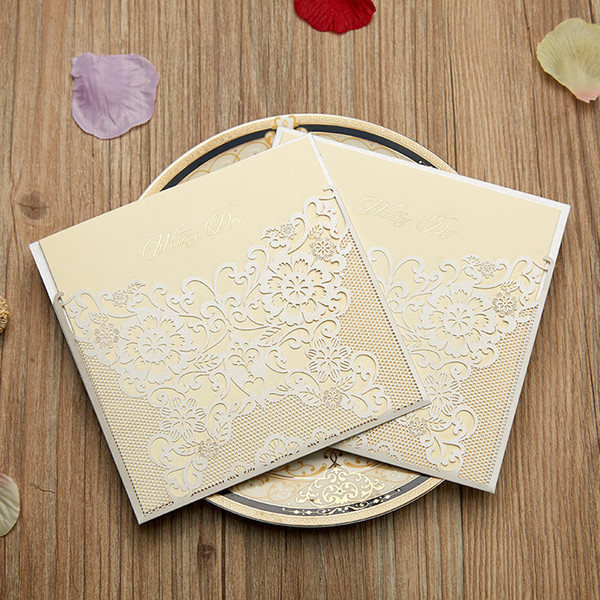 Wedding Invitations Sets Elegant Wedding Invitations Invitation Laser Cut Invitations Cards Butterly Birthday Wedding Party Invitation 40th Wedding