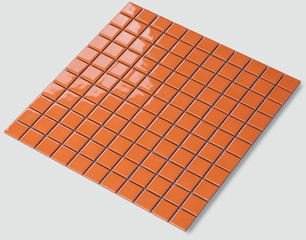 Acquista piastrelle opzionali in ceramica color arancio chiaro