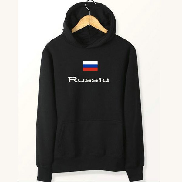 Russland Flagge Hoodies Team Banner Sweat Shirts Land Fleece Kleidung Pullover Sweatshirts Outdoor Sport Mantel Gebürstet Jacken