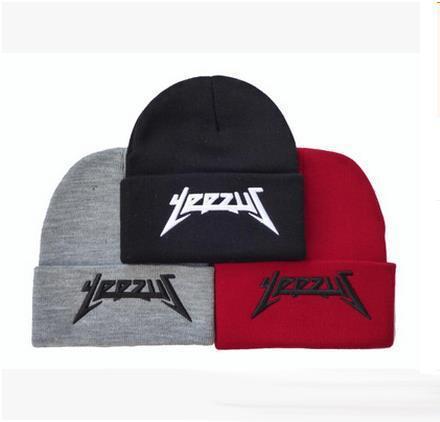 f90bf9381e4 High quality YEEZUS knitted beanie for men and women Hot Hip hop hip-hop  winter