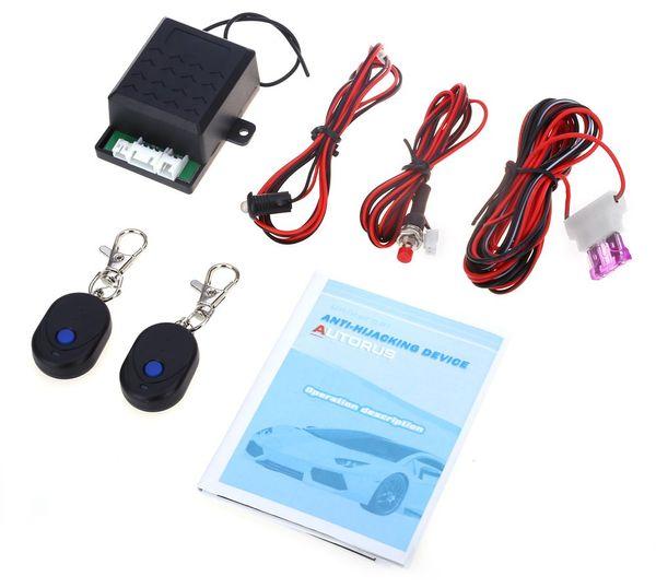 LB - AR028 Car Engine Immobilizer System Anti-robbery Alarm System Intelligent Identification Emergency Shutdown Switch