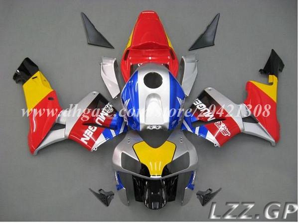 Tank+fairings for Honda CBR600 RR 2003-2004 CBR600RR 03 04 CBR600RR F5 2003 2004 F5 fairing sets #p10q8 Red silver blue