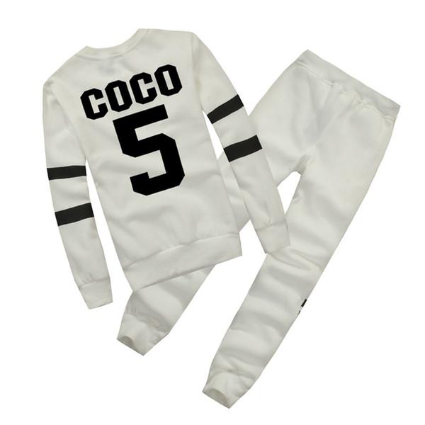 Hot Europe marque Automne Hiver Mode Femmes Pull Jogger Survêtement Sport Polaire Sweat Hoodies Blouse Plus Pantalon Costume