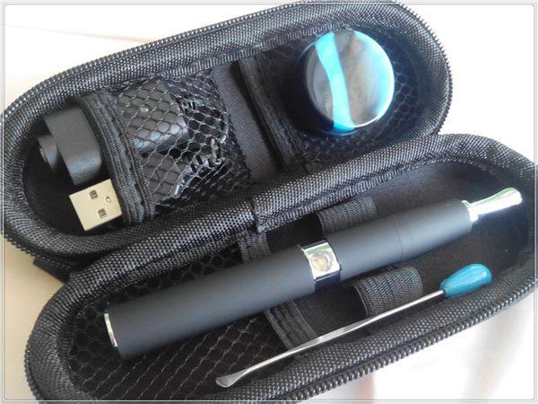ego-t wax pen vaporizer ceramic chamber wax attachment quartz coil heating vaporizer 510 skillet e cigarette kit best vape pen