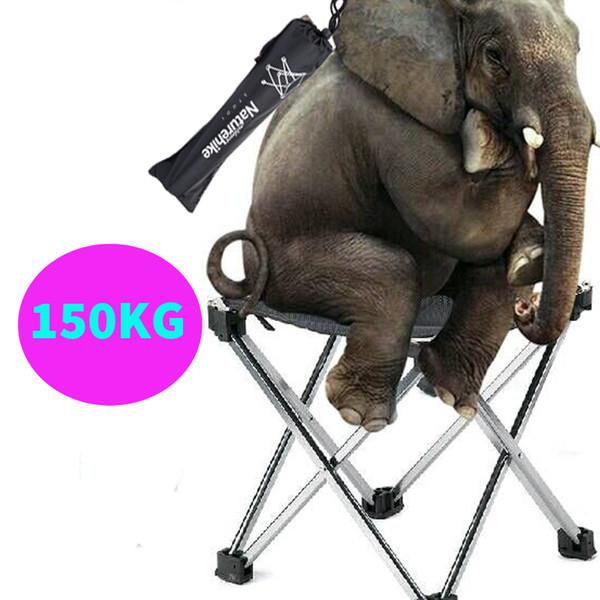 Chaise de plage pliante en gros et de haute qualité Léger Facile à transporter Tabouret de pêche en plein air Camping Gargden Chaise portable avec un sac