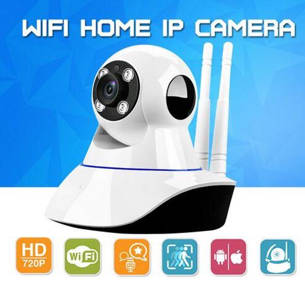 Home Security Wireless Mini IP Camera Surveillance Camera Wifi 720P Night Vision CCTV Camera Baby Monitor With the Retail Box