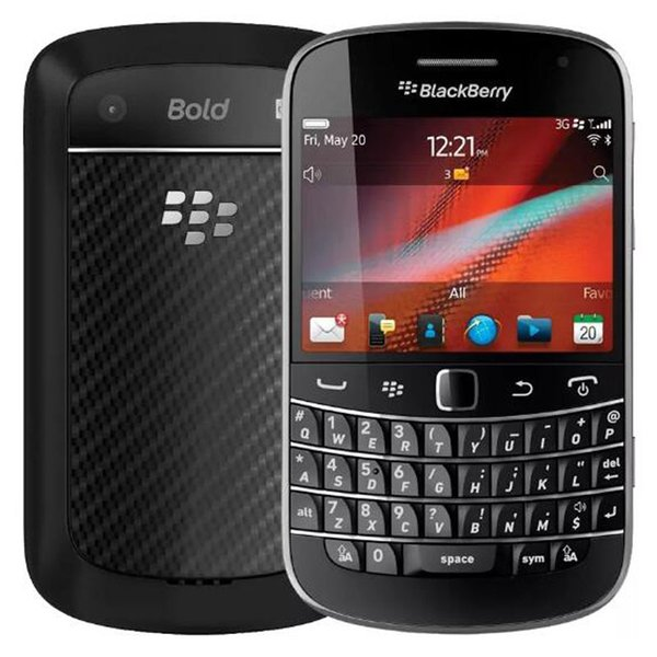 Refurbished Original Blackberry Bold Touch 9930 3G Mobile Phone 2.8 inch 8GB ROM 5MP Camera QWERTY Keyboard WIFI GPS Smart Phone DHL 1pcs