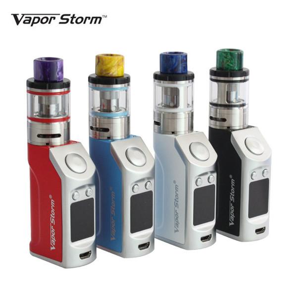 Electronic Cigarettes 50w Starter Kit Vapor Storm Vape Mod TC Box Mods VTank Sub ohm E cigs 1200mah E Cigarette Hookah Vaporizer