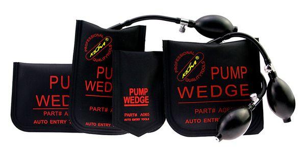 KLOM Pump Wedge Noir Petit / Moyen / Grand / En Forme de U Serrure De Porte De Voiture Pick Set Kit De Verrouillage De Voiture Automotive Lock Picking Outils
