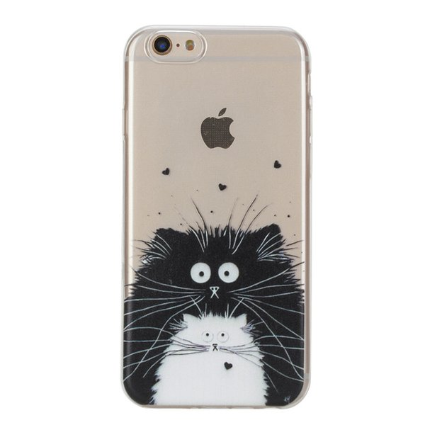 """For iPhone 6 6S (4.7"""") Transparent Soft Silicone Ultra Thin Case Cover Flexible Shockproof Phone Case"""