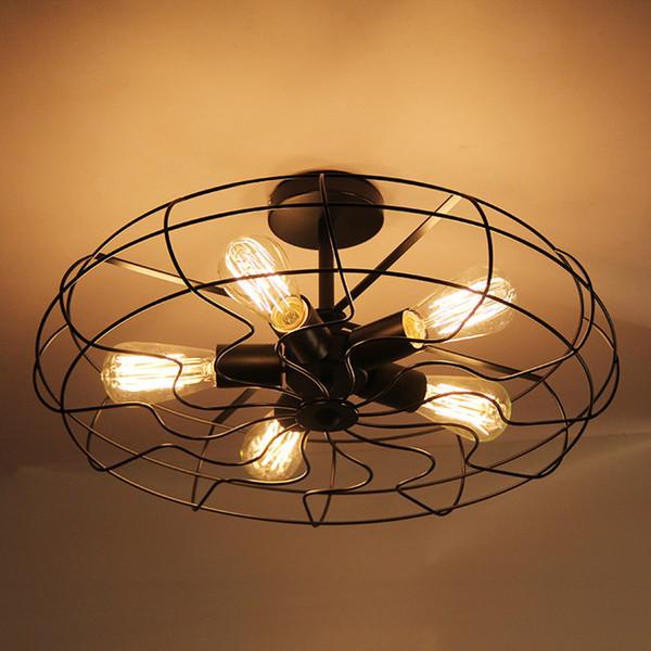 "American Industrial 21"" Loft Metal fan-shape Ceiling PENDANT Lamp Creative Bar Counter Kitchen Dining Room Restaurant Ceiling Pendant Light"