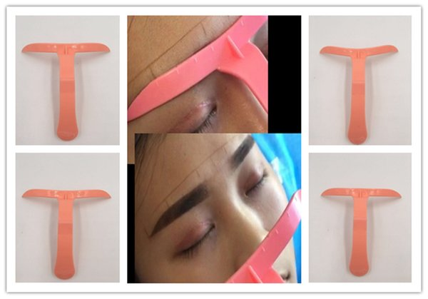 4 Styles Difference Eyebrow Makeup Eyebrow Stencil Kit Tools Eye Brow DIY Drawing Guide Styling Shaping Grooming Template Card Easy Makeup