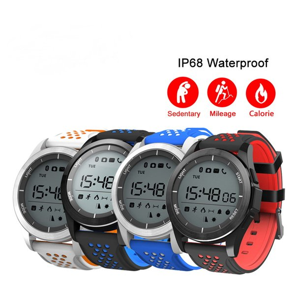 F3 Akıllı Izle Bilezik IP68 Su Geçirmez Yürüyüş Spor Smartwatch Spor Izci Android iOS Için Giyilebilir Cihazlar