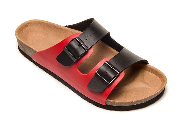 Acquista Designer Cork Slippers Sandali Uomo E Donna Summer Mixed Color Casual Beach Slides Infradito Buckle Zoccoli Sandali A $38.7 Dal Fsees |