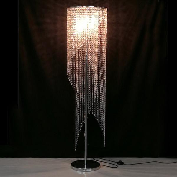 Großhandel Led Fashion Moderne Kristall Stehlampe Wohnzimmer Lichter  Schlafzimmer Lampen Kristall Französisch Moderne Culb Restaurant Couture  Crystal ...
