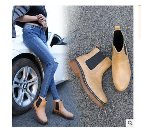 best selling 2017 fashion winter tricolor brand new PU leather female ankle Martin ankle boots motorcycle smooth shoe fashion leather boots plus