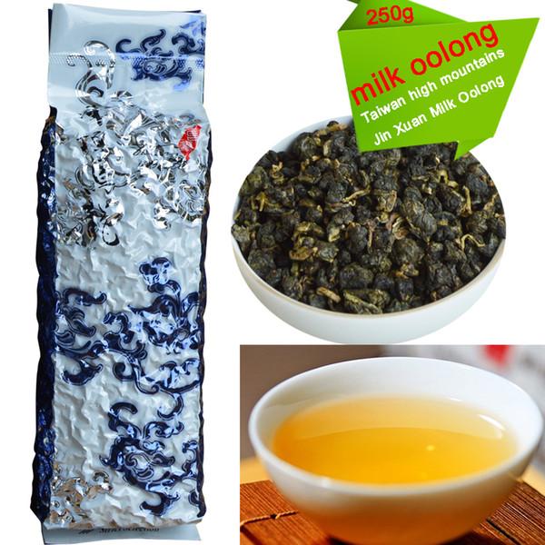 best selling Promotion 2020 China Oolong Taiwan Tea Free Shipping! 250g Taiwan High Mountains Jin Xuan Milk Oolong Tea, Wulong Tea 250g +Free Gift